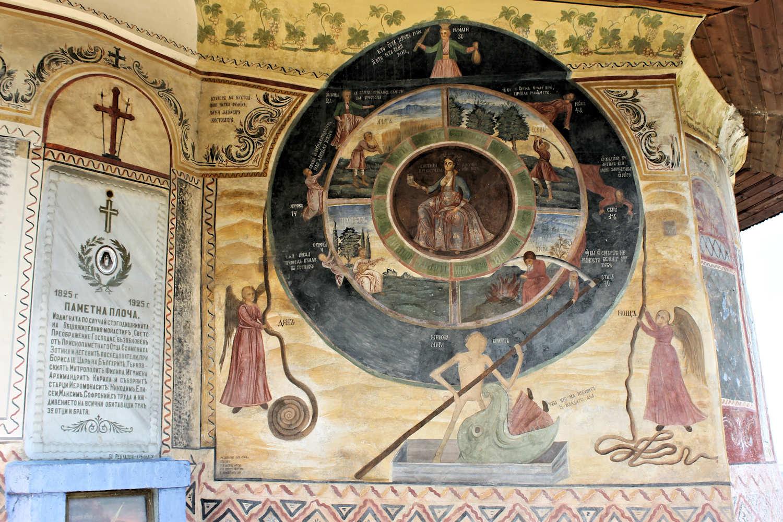 """La """"ruota della vita"""" al Monastero della Trasfigurazione"""