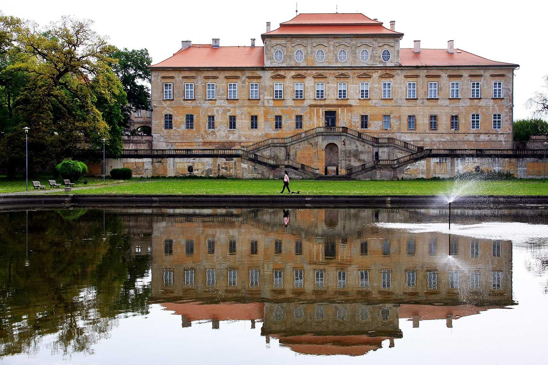Il castello di Duchcov, dove mori Casanova, solo e dimenticato da tutti