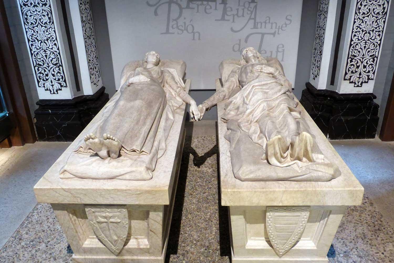 Teruel: la leggenda dei due amanti, uniti (quasi) anche nella tomba