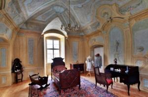 sala castello Duchov Casanova