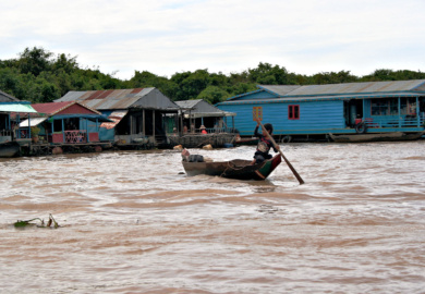 Kompong Chhnang e i villaggi galleggianti sul Tonle-Sap